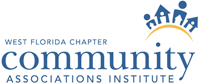 West Florida Chapter of Community Associations Institute Logo